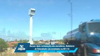 Russas: Após reclamações dos moradores, Redutores de Velocidades são instalados na BR 116