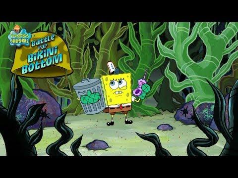 SpongeBob SquarePants: Battle For Bikini Bottom! Tiki Madness in Kelp Forest! Episode 16