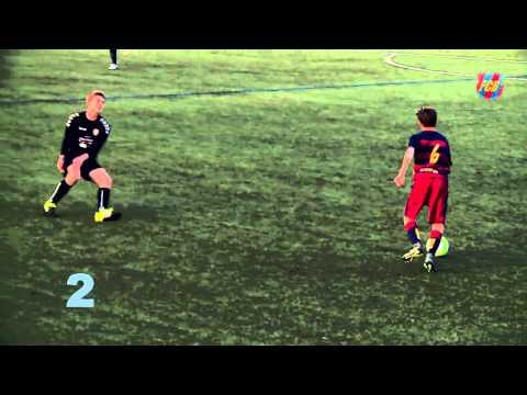 AMAZING – FC Barcelona's DNA in a goal / Golazo con ADN Barça