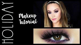 holiday makeup tutorial 2015