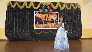 Lakshanya Singing Performance (Netru Illatha Maatram)