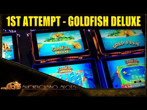 1ST ATTEMPT - GOLDFISH Deluxe Slot Machine Bonus - WMS