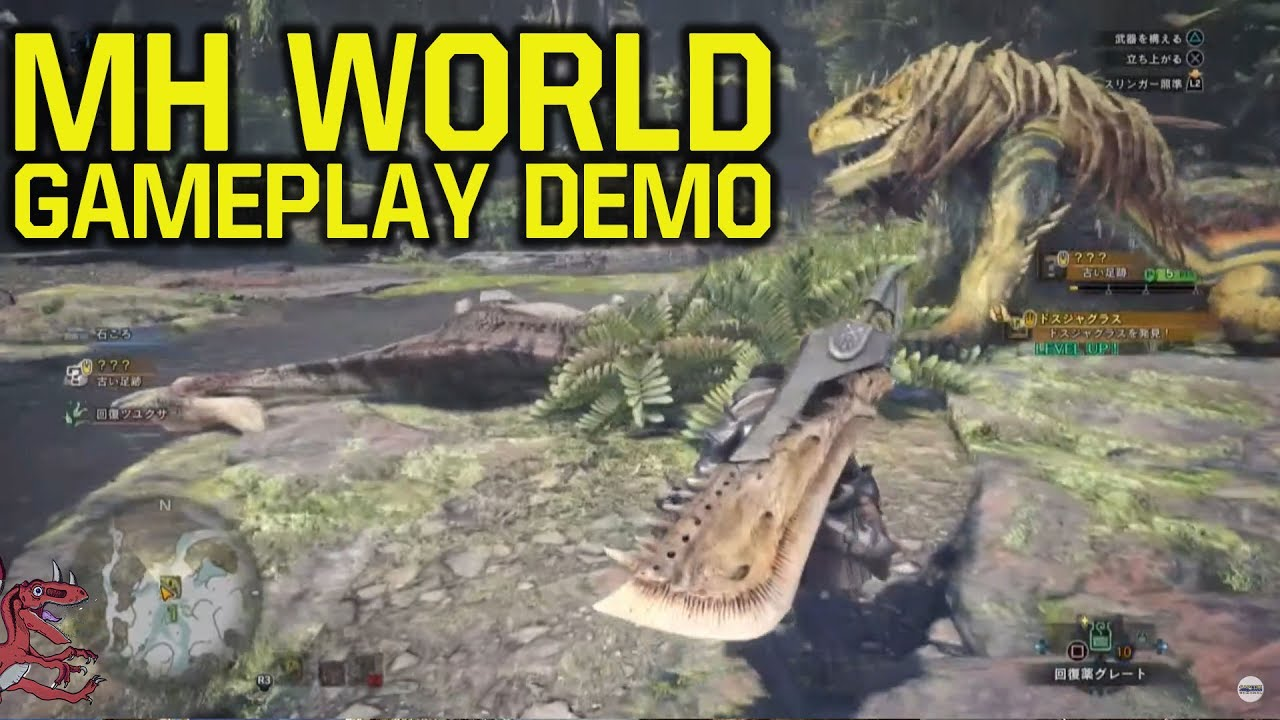 Monster Hunter World Gameplay SHOWS TON OF NEW FEATURES - FULL DEMO & ANALYSIS (MH World Gamepla
