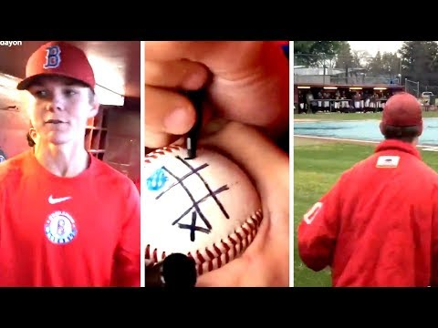 Playing Tic Tac Toe in A Baseball Rain Delay