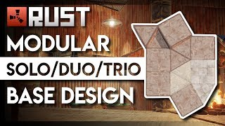 RUST   King of all Modular (Solo/Duo/Trio) Base Designs   ±200 satchels