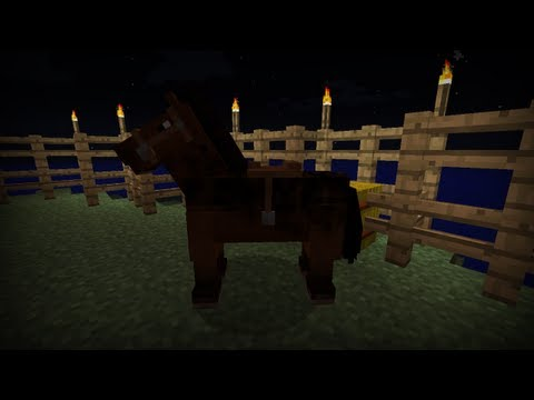 Minecraft Tutorial - How To Make A Horse Saddle