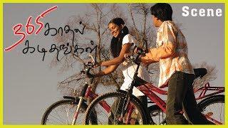 365 Kadhal Kadithangal Tamil Movie   Scene   Title Credit & Cycle Devadhai Song