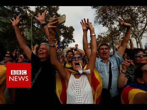 BREAKING NEWS: Catalonia Declares Independence - BBC News