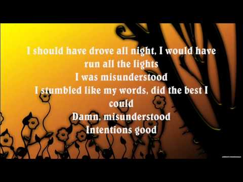Bon Jovi - Misunderstood (Lyrics)