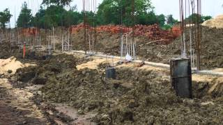 Pillar & Basement Construction Of Multistory Building.......