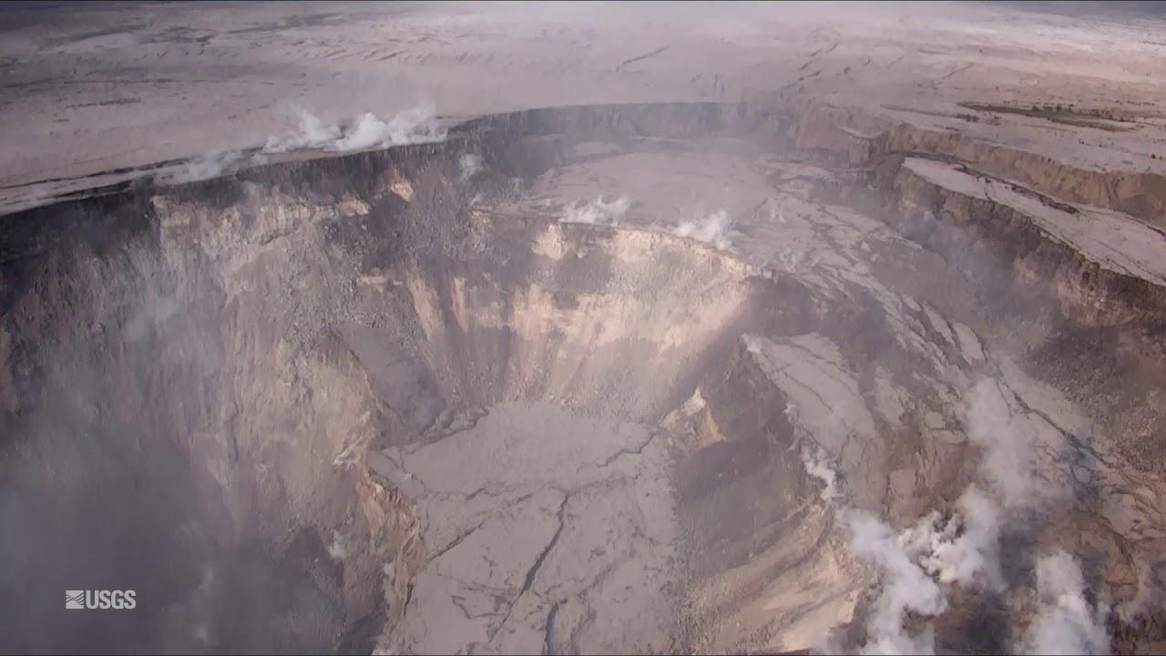 Kīlauea Volcano — UAS Survey of Halema'uma'u Crater Rim