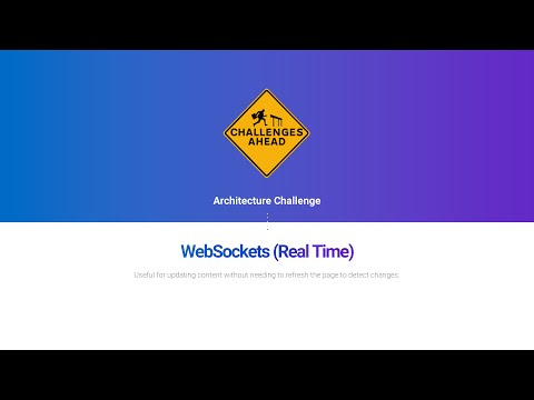 React Architecture Challenge: WebSockets (Real-Time)