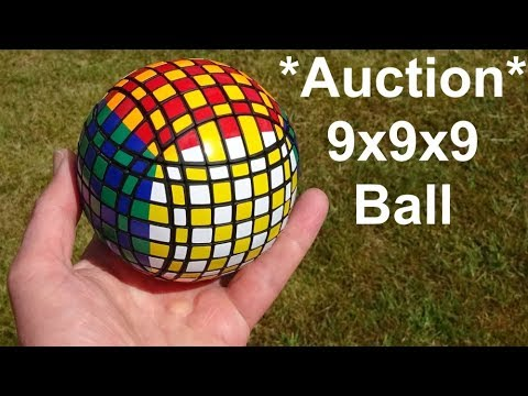 Tony Fisher's 9x9x9 Ball Puzzle Auction (Past Auction)