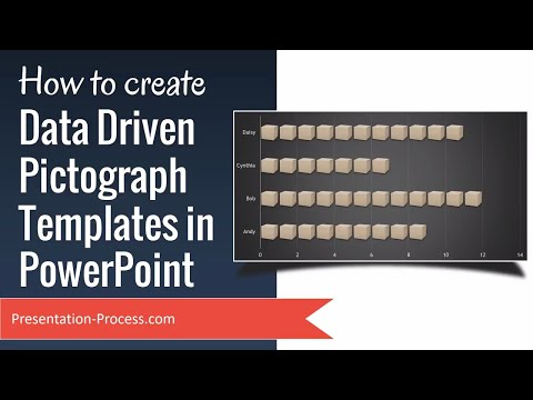 How To Create  Data Driven Pictograph Templates In PowerPoint