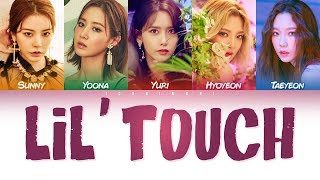 SNSD-Oh!GG (소녀시대-Oh!GG) - LIL' TOUCH (몰랐니) LYRICS (Color Coded Han|Eng|Esp|가사)