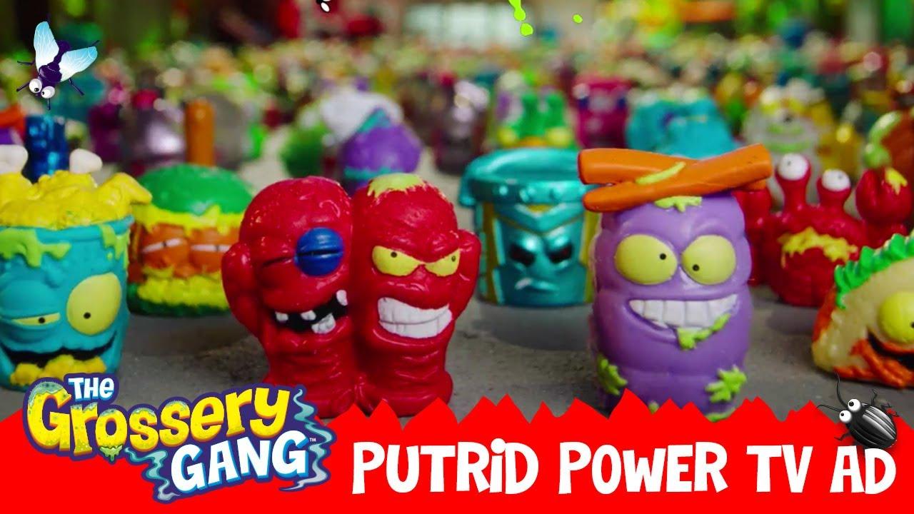 The Grossery Gang Official Putrid Power Core Tv