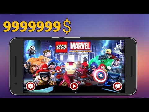 Download LEGO Marvel Super Heroes (MOD, Money/magnet) Free On Android