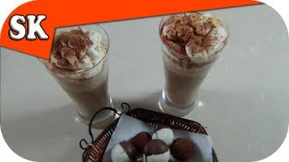 Cappuccino Coffee Smoothie - Ice Coffee - Smoothie Tuesday 021