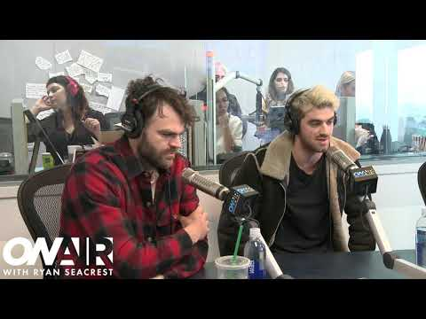 Chainsmokers Share New Single Sick Boy  With Ryan  On Air with Ryan Seacrest