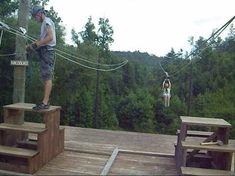 zip line this is the most fun in north georgia usa near helen
