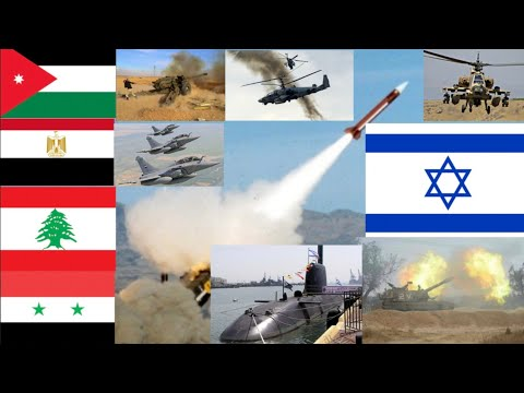 Six-day War Egypt, Syria, Lebanon, Jordan Vs Israel Military Power Comparison