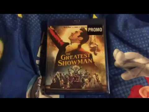 The Greatest Showman (2017) Blu-ray Unboxing