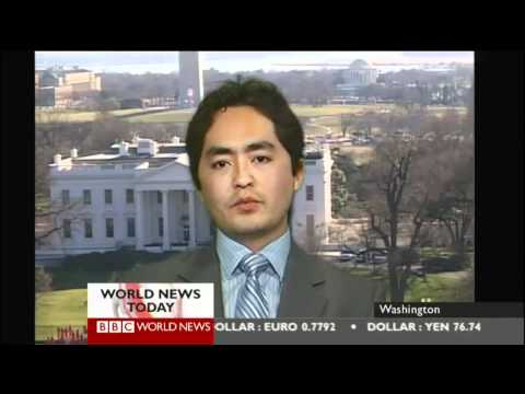 Ahmad Shuja discusses alleged Marine urination video on the BBC World News