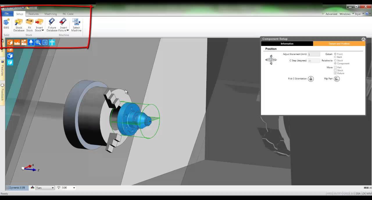 4 edgecam testdrive tutorial selecting a machine and feature rh youtube com Edgecam Training CD