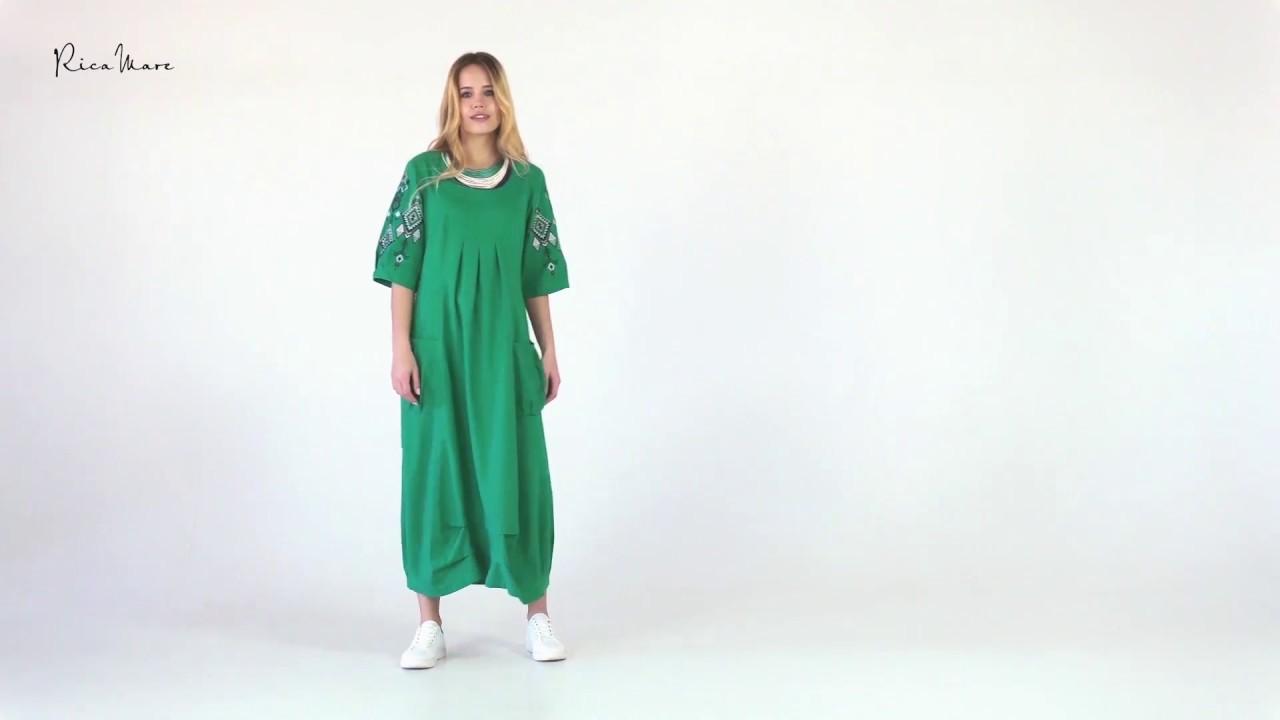 Льняные платья в стиле RicaMare