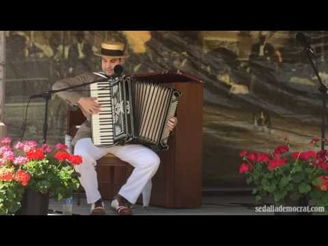 Matt Tolentino plays at 2017 Scott Joplin International Ragtime Festival