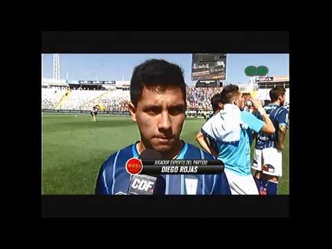 Diego Rojas UC contra CC 0x3