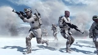Star Wars Battlefront - Trailer de gameplay E3 2015 :  L'attaque des Marcheurs sur Hoth