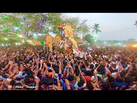 Thechikottukavu Ramachandran Mass Entry | Anayadi Pooram 2019 | SreeKrishnasena - AKHIL THOPPIL
