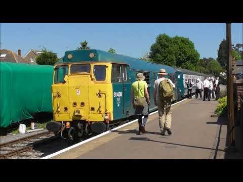 Epping Ongar Railway. 7th May 2018 Bank Holiday