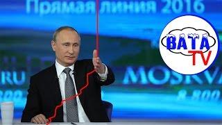 Как Путин России прямую линию проводил