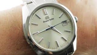"Grand Seiko Date ""Champagne"" 9F82 (SBGV205) Grand Seiko Quartz Watch Review"