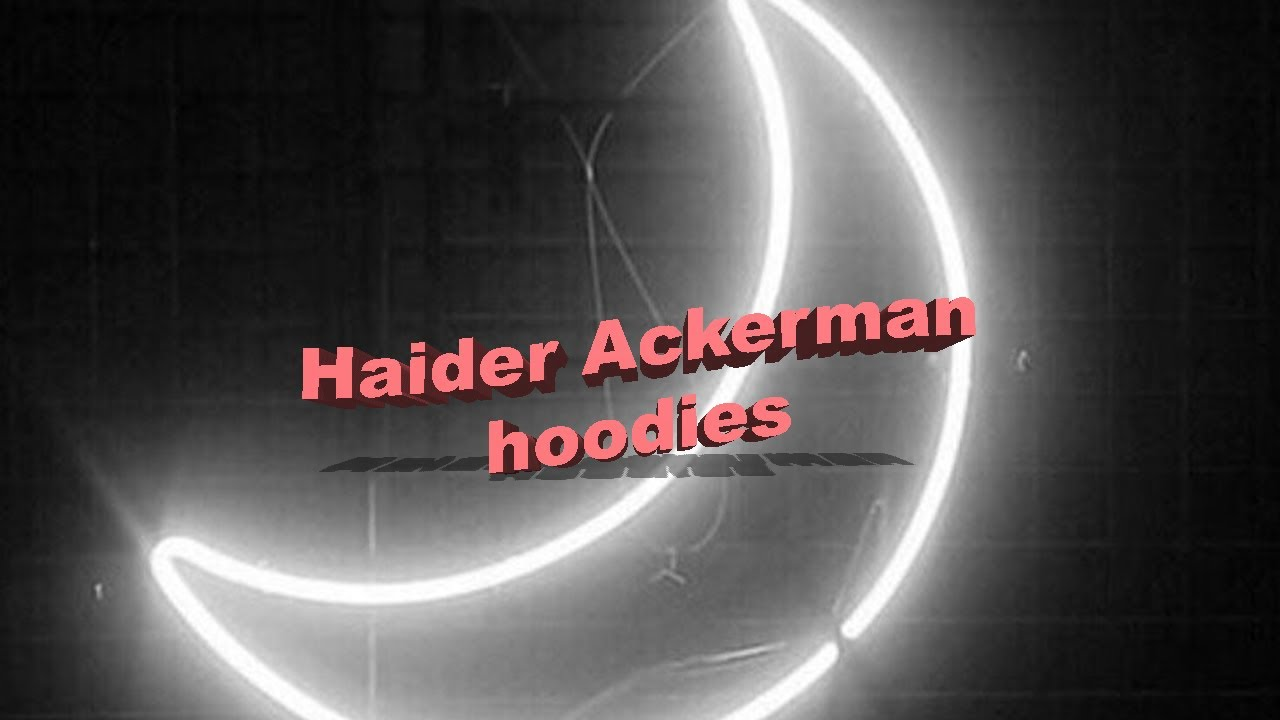 Haider Ackerman