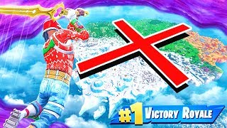 I DESTROYED the ENTIRE Fortnite Map with the Infinity Blade