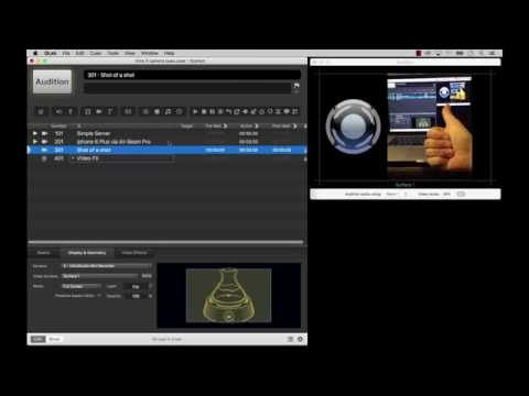 Introduction to Camera Cues in QLab 3
