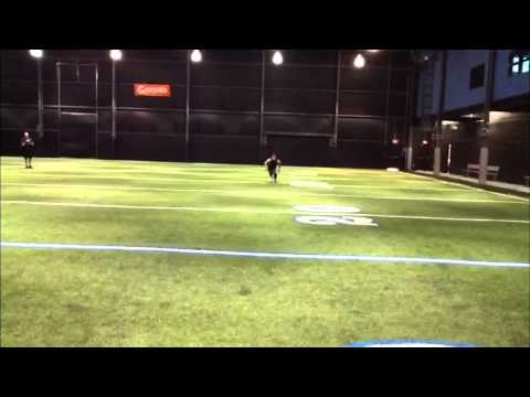 Austin Proehl Wide Receiver workout at Proehlific Park