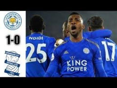 Leicester City vs Birmingham ( 1-0 ) - Highlights