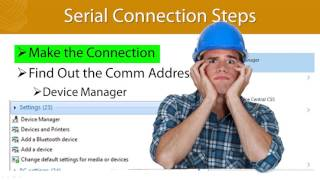 How to Communicate With Relays and Test Sets Via Serial Communication