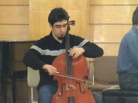 Haydn: Cello Concerto I in C (2° mov.) - Davi Barreto
