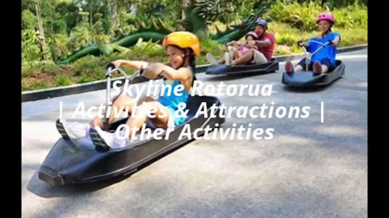Skyline Luge Adventure Activities Sentosa Singapore Ampamp 2x Rotorua Gondola