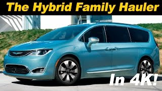 2017 Chrysler Pacifica Hybrid First Drive Review - DETAILED in 4K UHD!