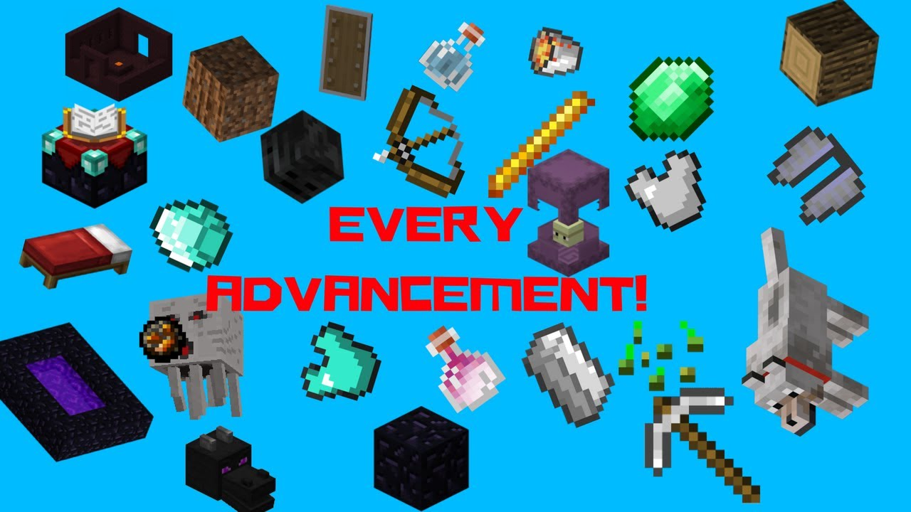 how to make advencement minecraft
