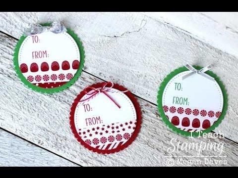 Christmas Washi Tape To Make Christmas Tags With Washi Tape