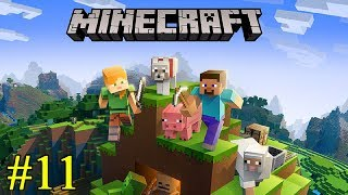 Minecraft ► Битва в туннелях ► №11