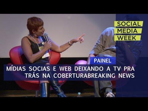 SMWSP 2013 |  Mídias sociais e web deixando TV pra trás na cobertura de breaking news