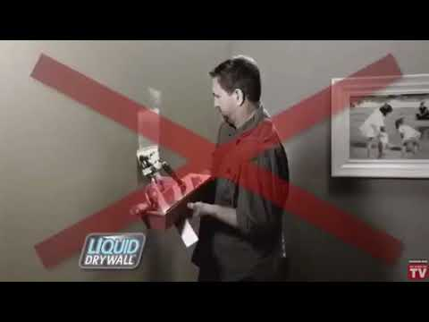 Hilarious Liquid Dry Wall Commercial Voice Over